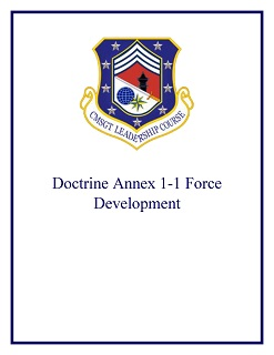 Doctrine Annex 1-1 Force Development