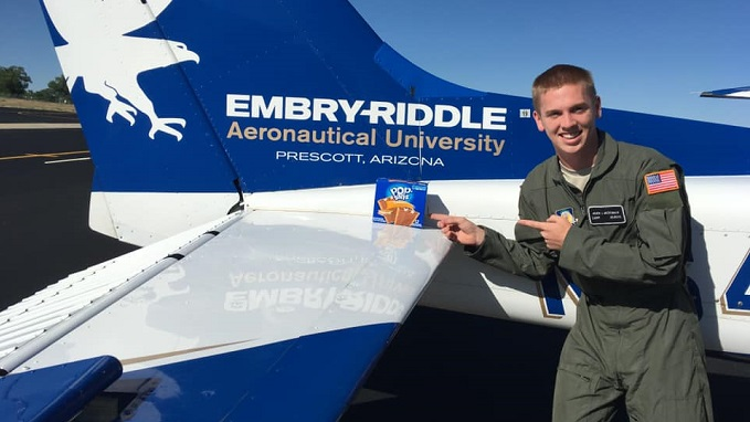 Embry Riddle University Heath McDonald