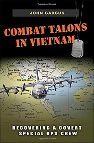 Book cover of Combat Talons in Vietnam: Recovering a Covert Special Ops Crew