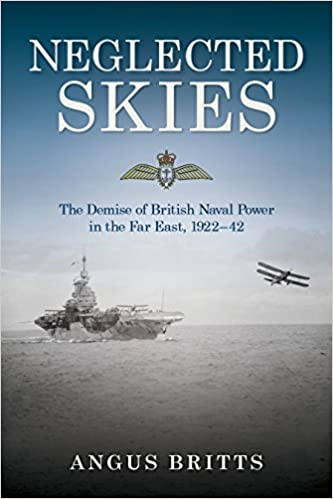 Book cover of Neglected Skies: The Demise of British Naval Power in the Far East, 1922-42