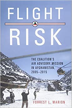 Book cover of Flight Risk: The Coalition's Air Advisory Mission in Afghanistan, 2005–15