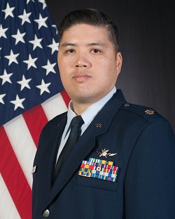 Photo of Maj Lou Nguyen, USAF