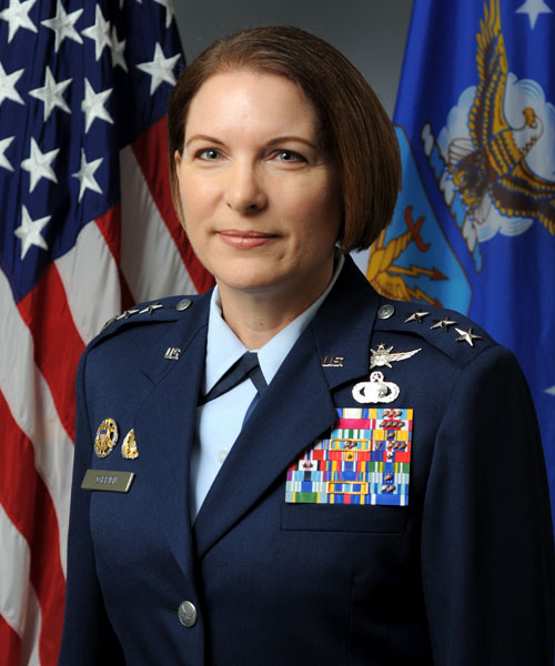 Photo of Lt Gen Mary OBrien.