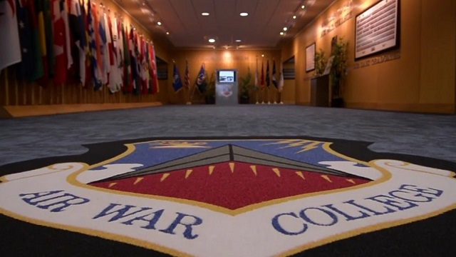 Air Force's senior PME school for officers. Each year over 250 colonels and lieutenant colonels attend - from the Air Force and other U.S. military services, equivalent grade civilians from U.S. government agencies, as well as from 45 other nations.