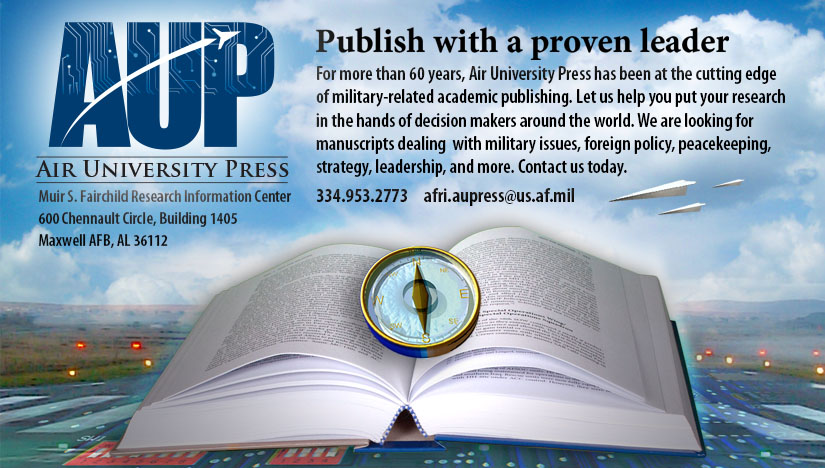 Air University Press Publish with Us Promo