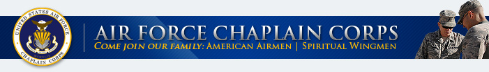 Join the Air Force Chaplain Corps