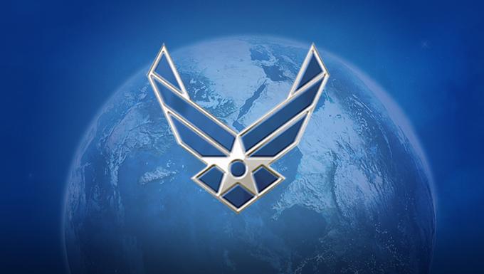 AF symbol over world