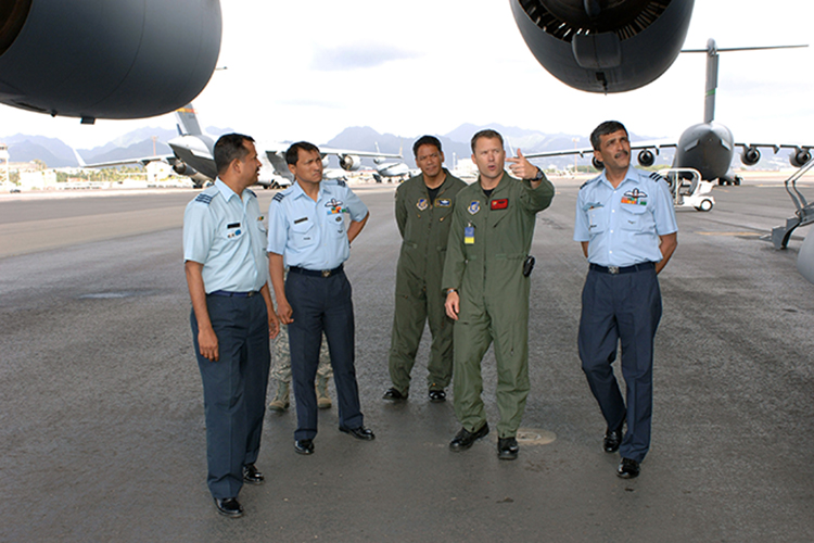 USAF and Indian Air Force