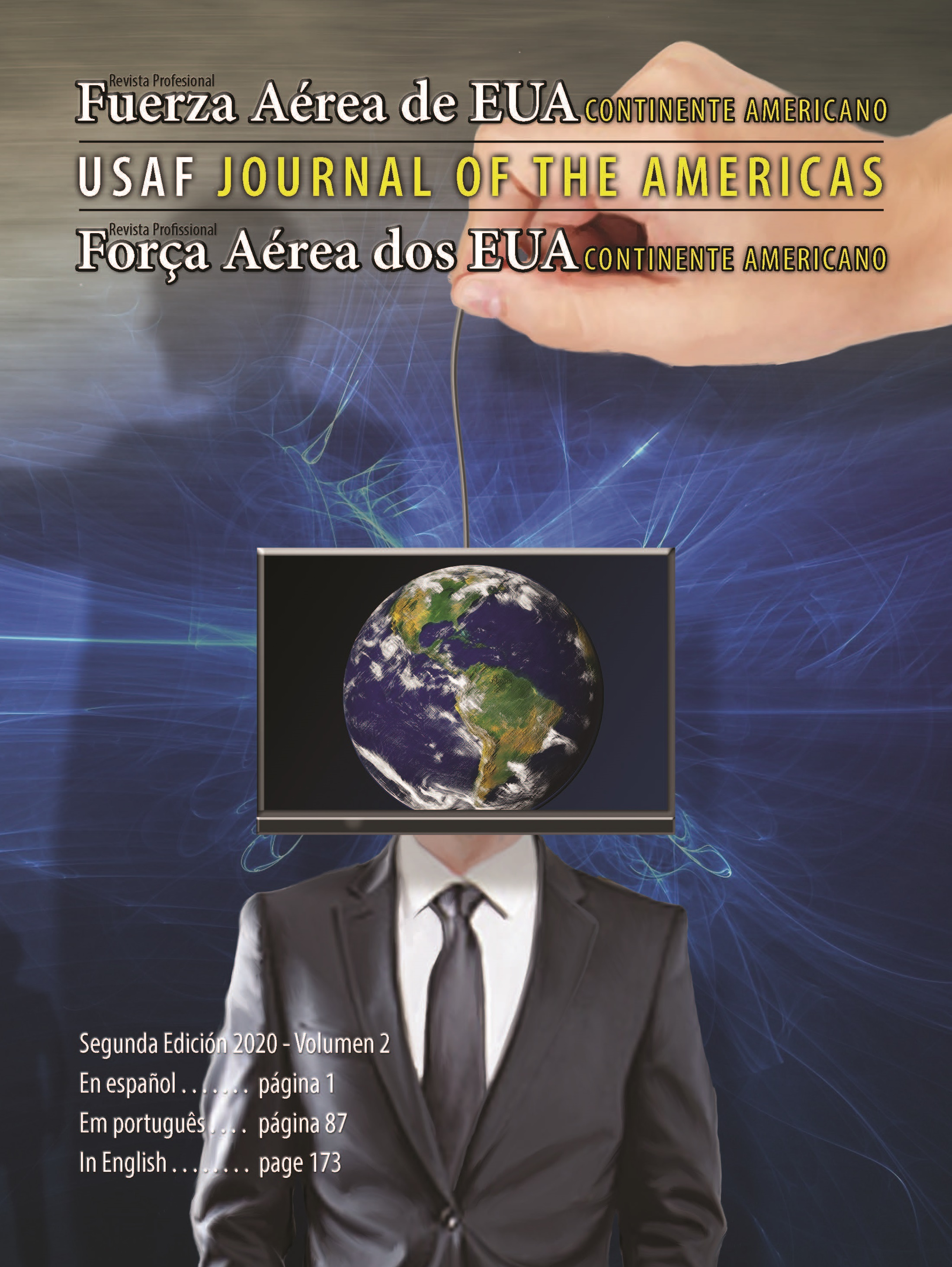 USAF Journal of the Americas Cover 2020-2