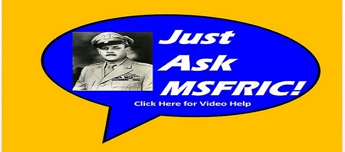Click here for helpful videos on how to use MSFRIC!