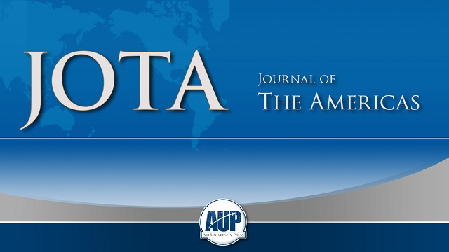 The US Air Force Journal of the Americas (JotA) is a forum for the dissemination of original research articles and review articles in numerous areas, refereed by subject-matter experts, of an academic nature, whose mission seeks to stimulate professional dialogue on Air and Space Power among the members of the Armed Forces of the Americas, historians, professors and the general public.