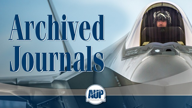 View our archived journals: ASPJ International journals, JEMEAA, and Wild Blue Yonder.