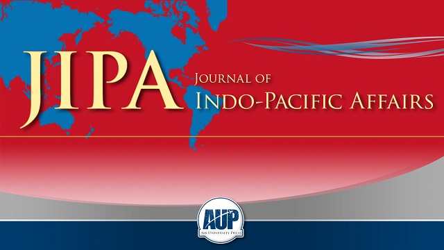 The Air Force Journal of Indo–Pacific Affairs (JIPA) is a professional journal of the US Air Force and a forum for worldwide dialogue regarding the Indo–Pacific region, spanning from the west coasts of the Americas to the eastern shores of Africa and covering much of Asia and all of Oceania.