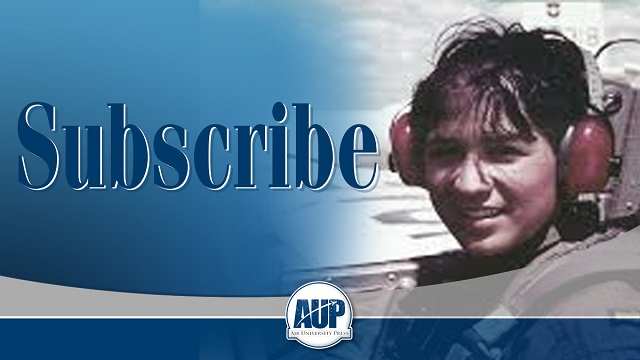 Subscribe to be notified of AUP news and the newest books, papers, and journal informtion.