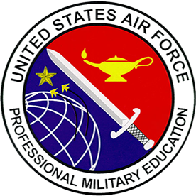 Professional Military Education Instructor Badge