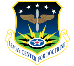 LeMay Center Shield