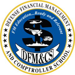 Defense Financial Management and Comptroller School Logo