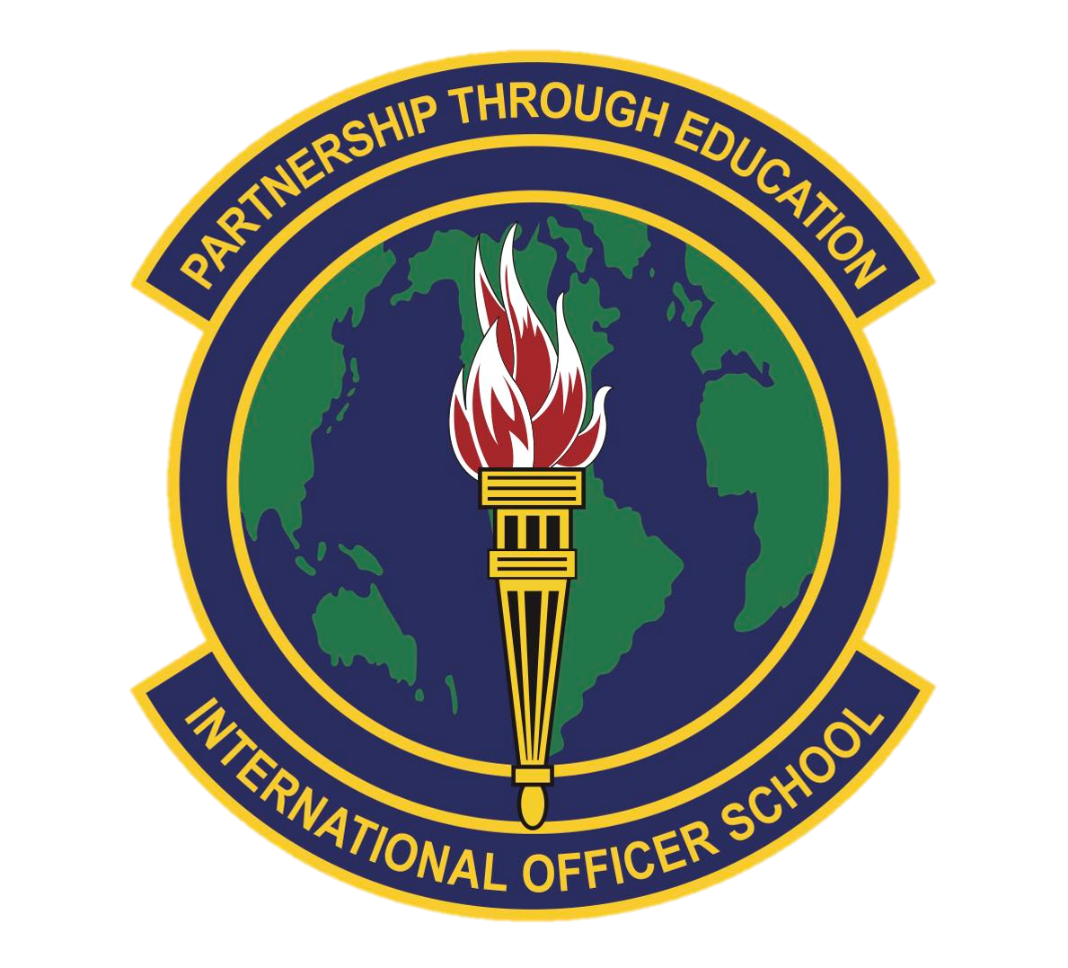 International Officer School Patch