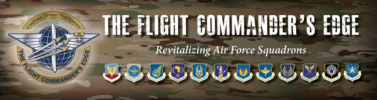 The Flight Commanders Edge: Revitalizing Air Force Squadrons