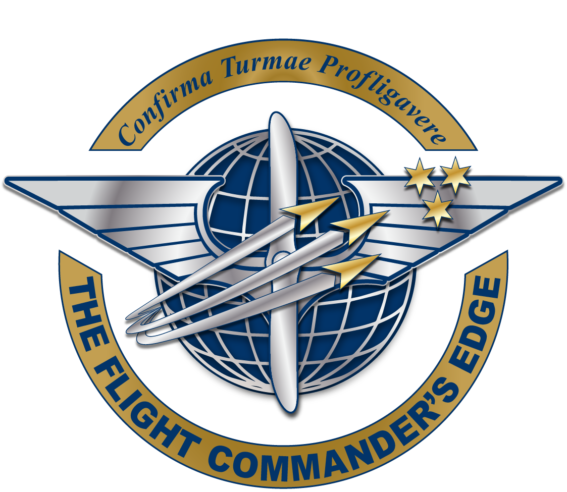 The Flight Commander's Edge logo