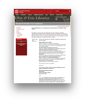 View the Cornell Guide to Library Research