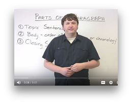 Paragraph Structure Video