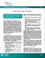 Adult Learner Theory